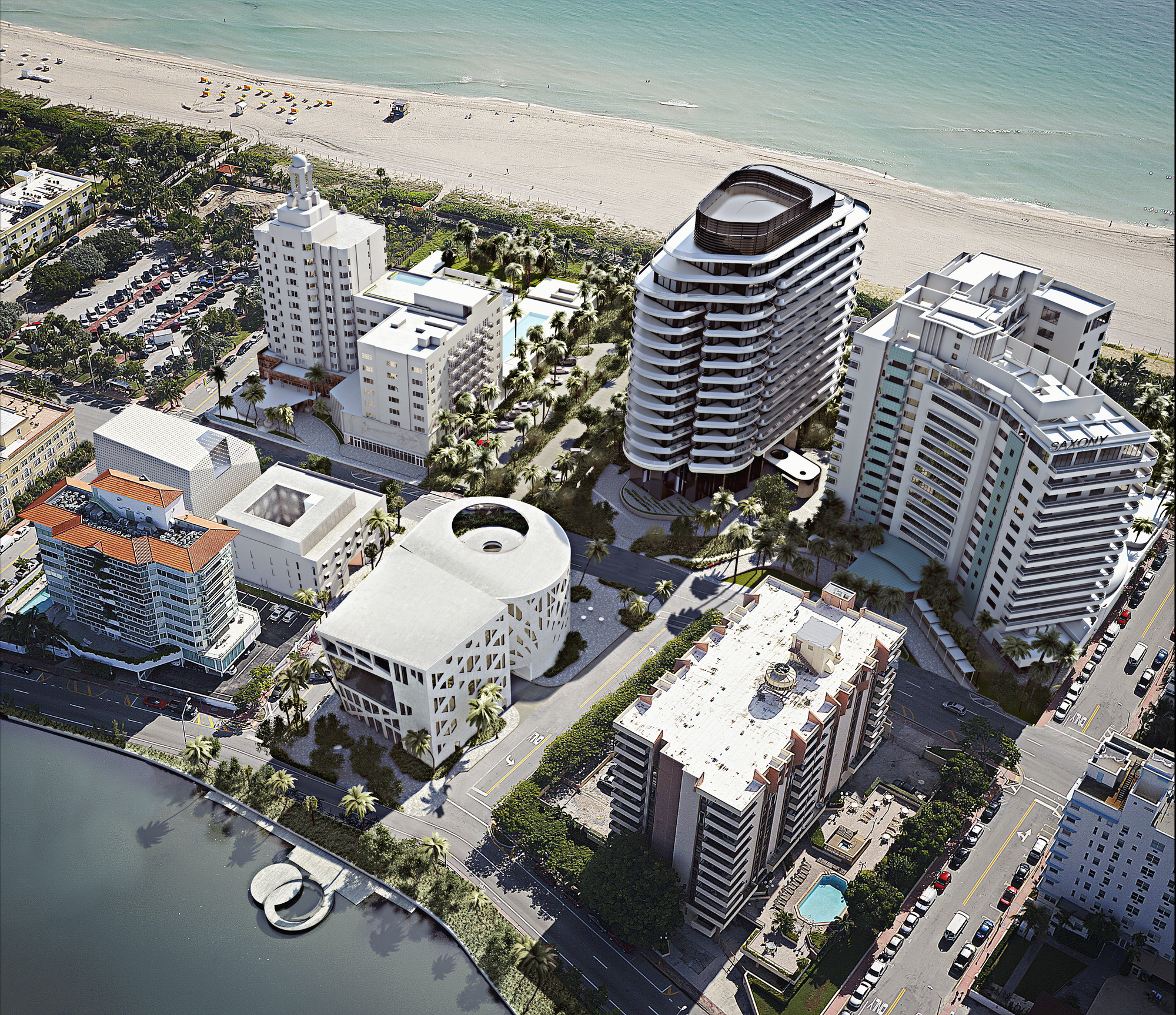 OMA, Foster + Partners, Heatherwick Studio Recruited to Design 'Faena District' of Miami Beach, Faena Art Center. Image Courtesy of Faena