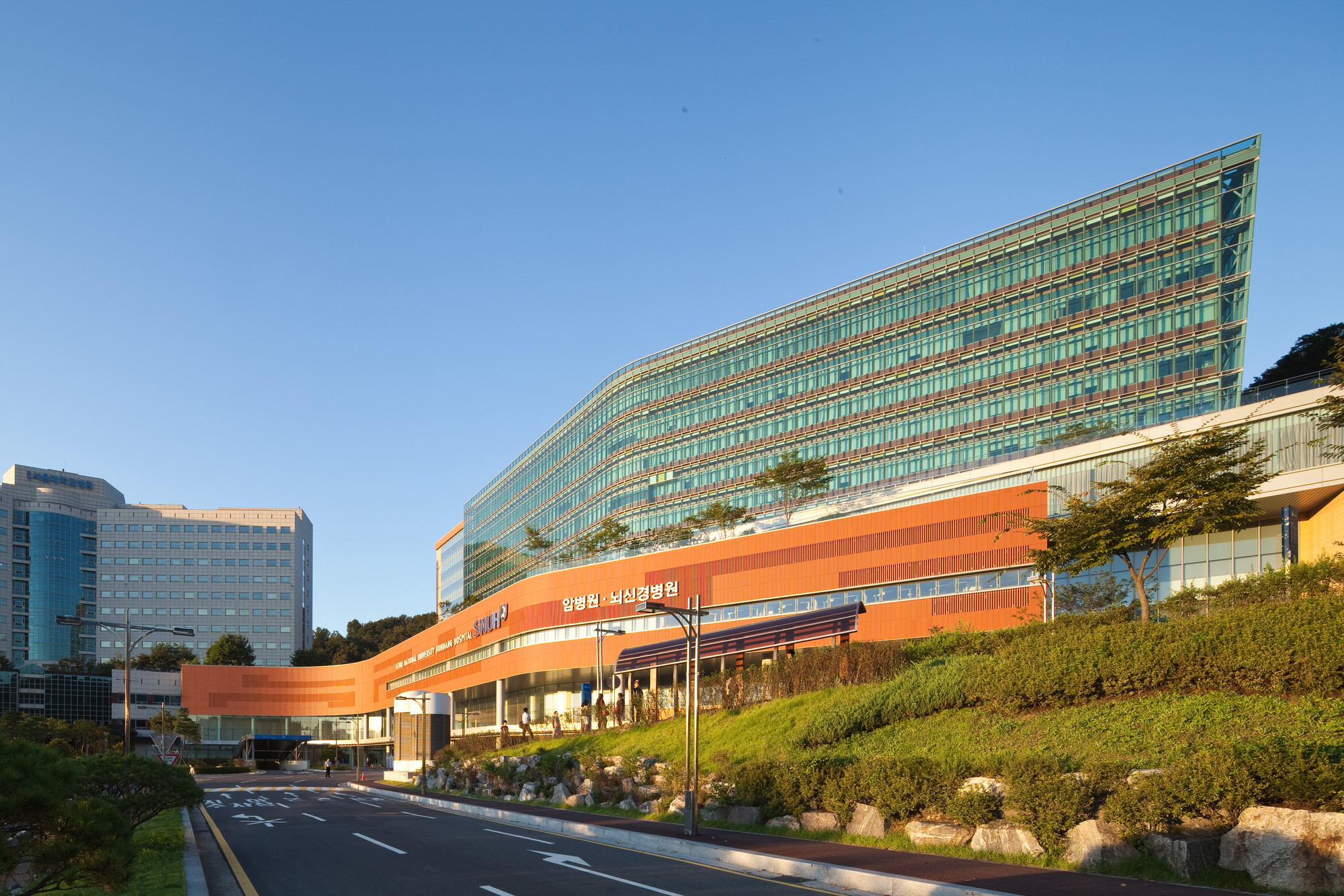 Bundang Seoul National University Hospital Junglim Architecture on Floor Layout Design