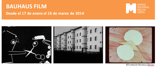 Bauhaus film en mnba chile plataforma arquitectura - Bauhaus iluminacion interior ...
