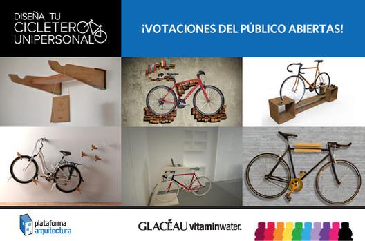 Cicletero Unipersonal GLACÉAU vitaminwater: Se abren las votaciones del público!