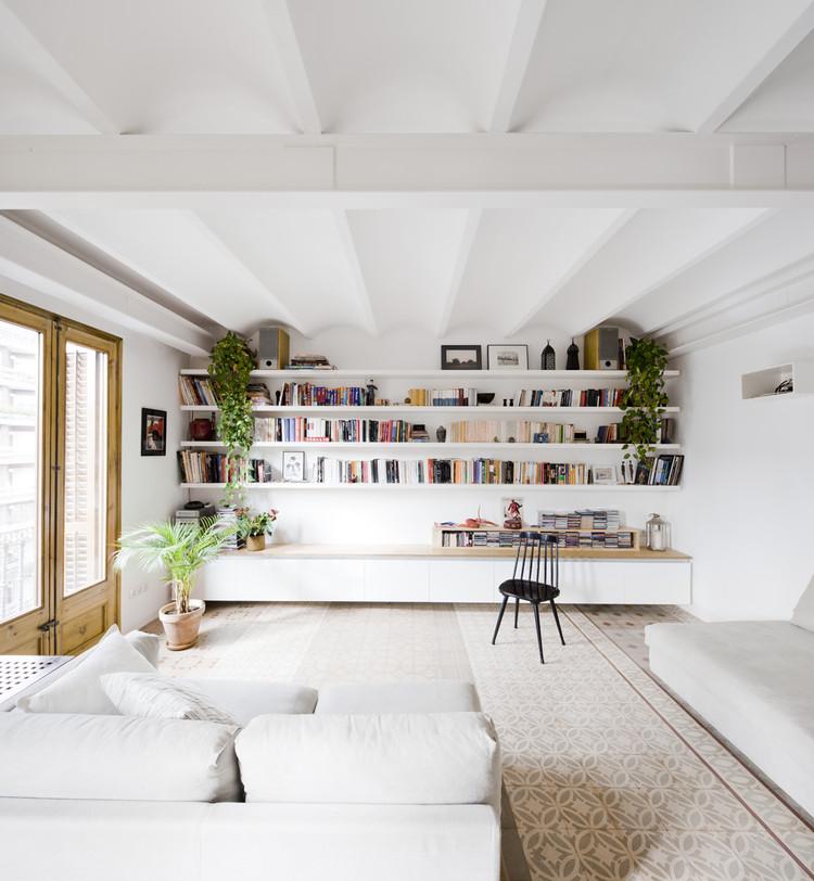 Reforma de Apartamento / Anna & Eugeni Bach, © Eugeni Bach