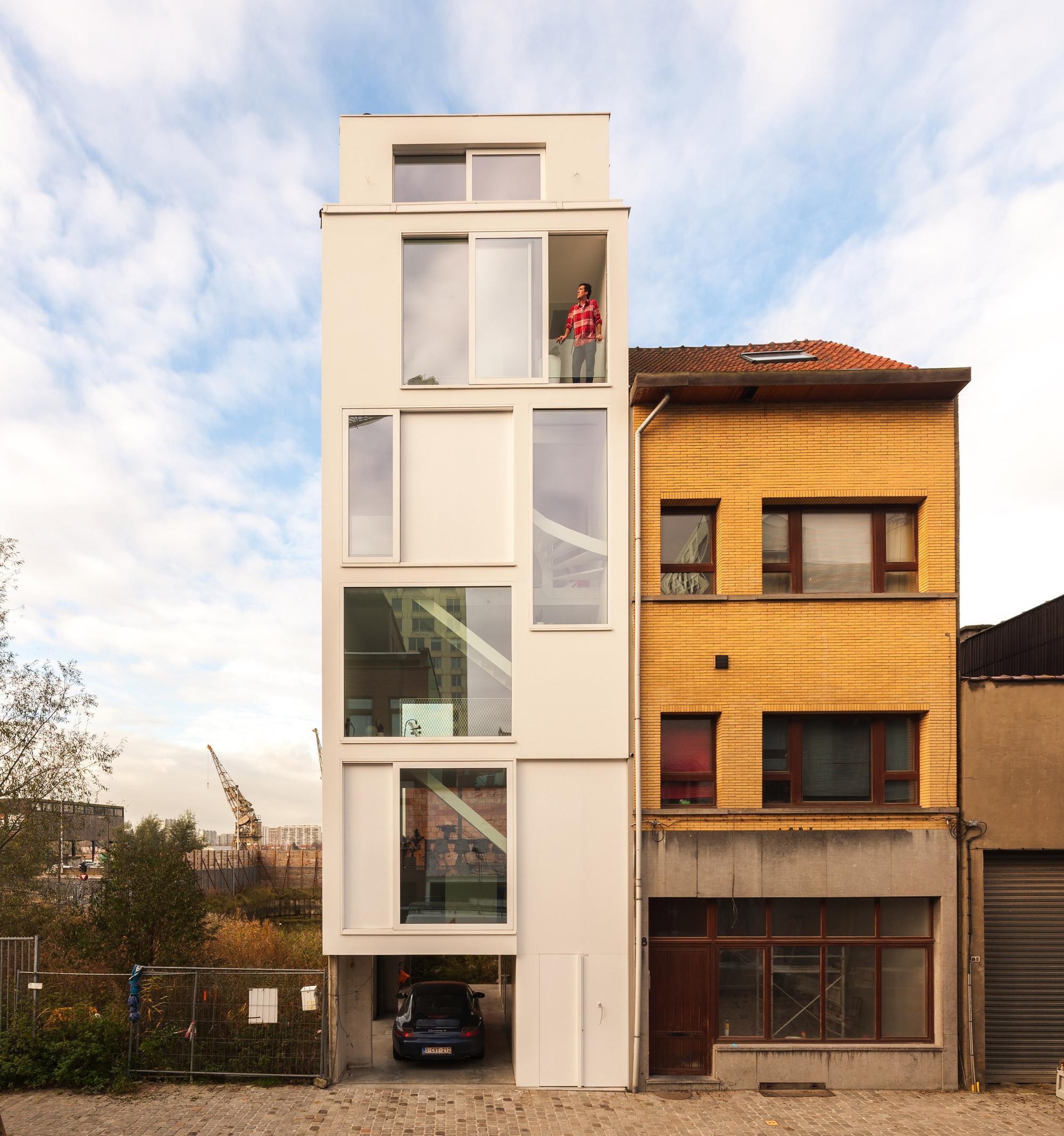 house BRZ / P8 architecten, © Luc Roymans