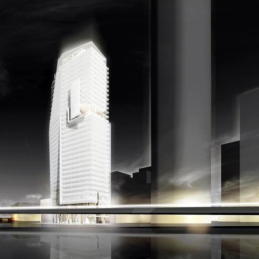 Proyecto Mitikah Tower de Richard Meir & Partners