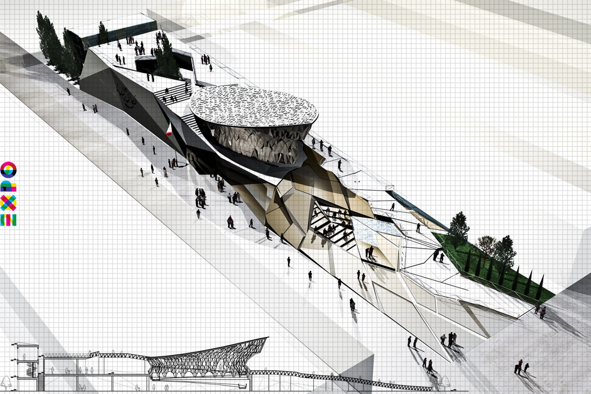 Competition Entry: 'My Iran' (Expo Milan 2015) / Akaran Architects & IRANBON, Courtesy of Akaran Architects