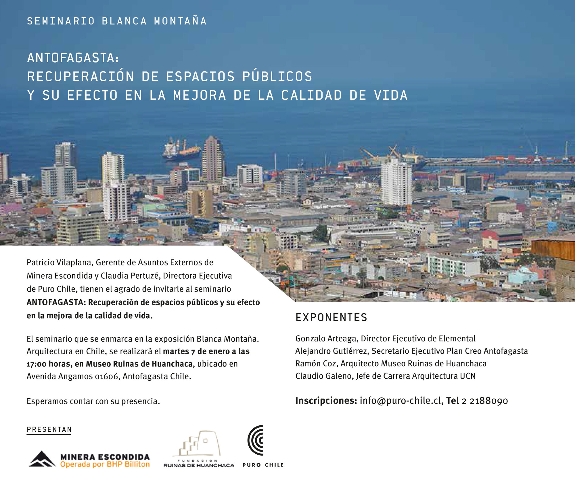 Antofagasta: Recuperación de Espacios Públicos y Calidad de Vida