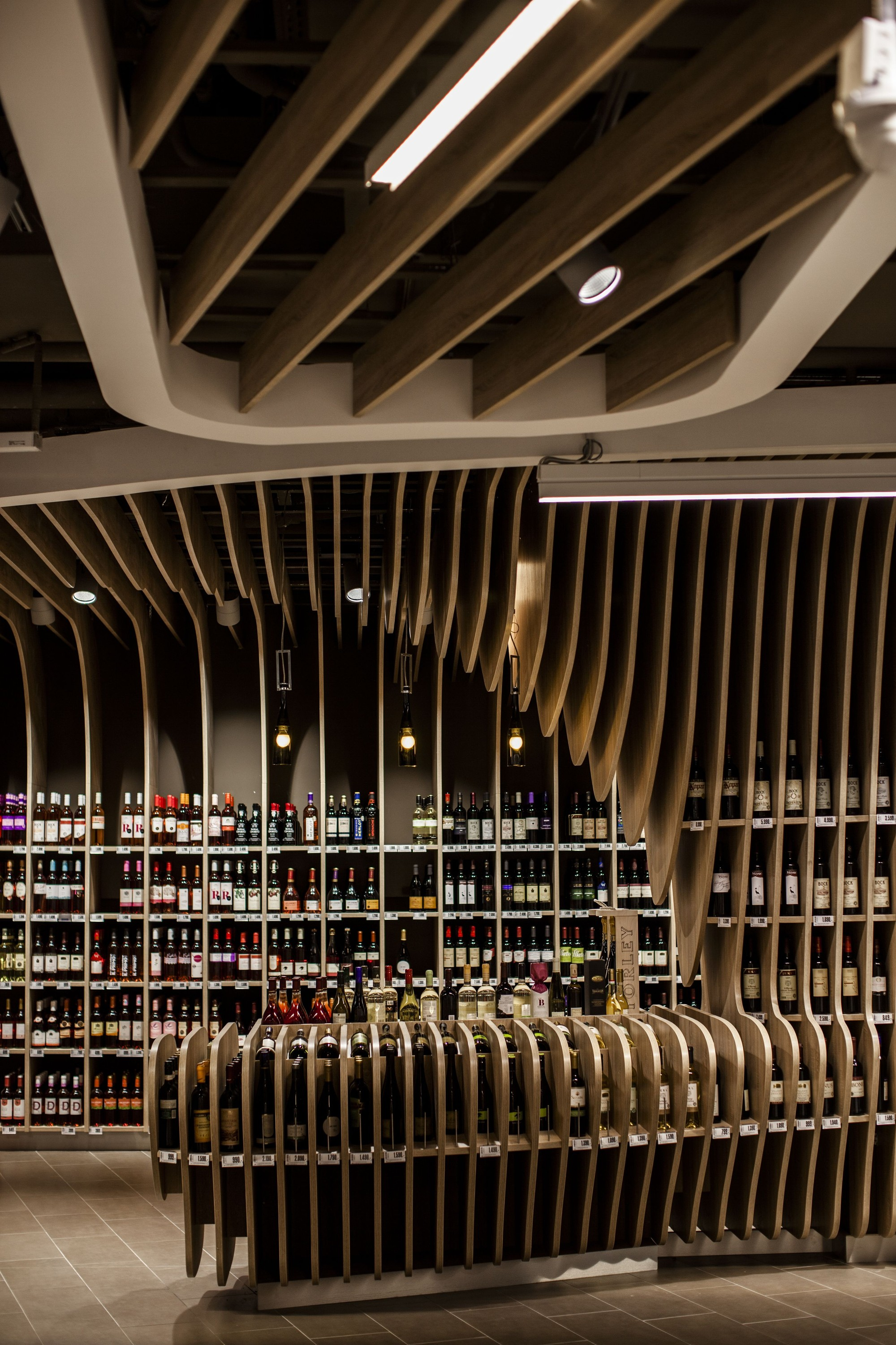Wooden False Ceiling Gallery Of Spar Flagshipstore Lab5 Architects 5