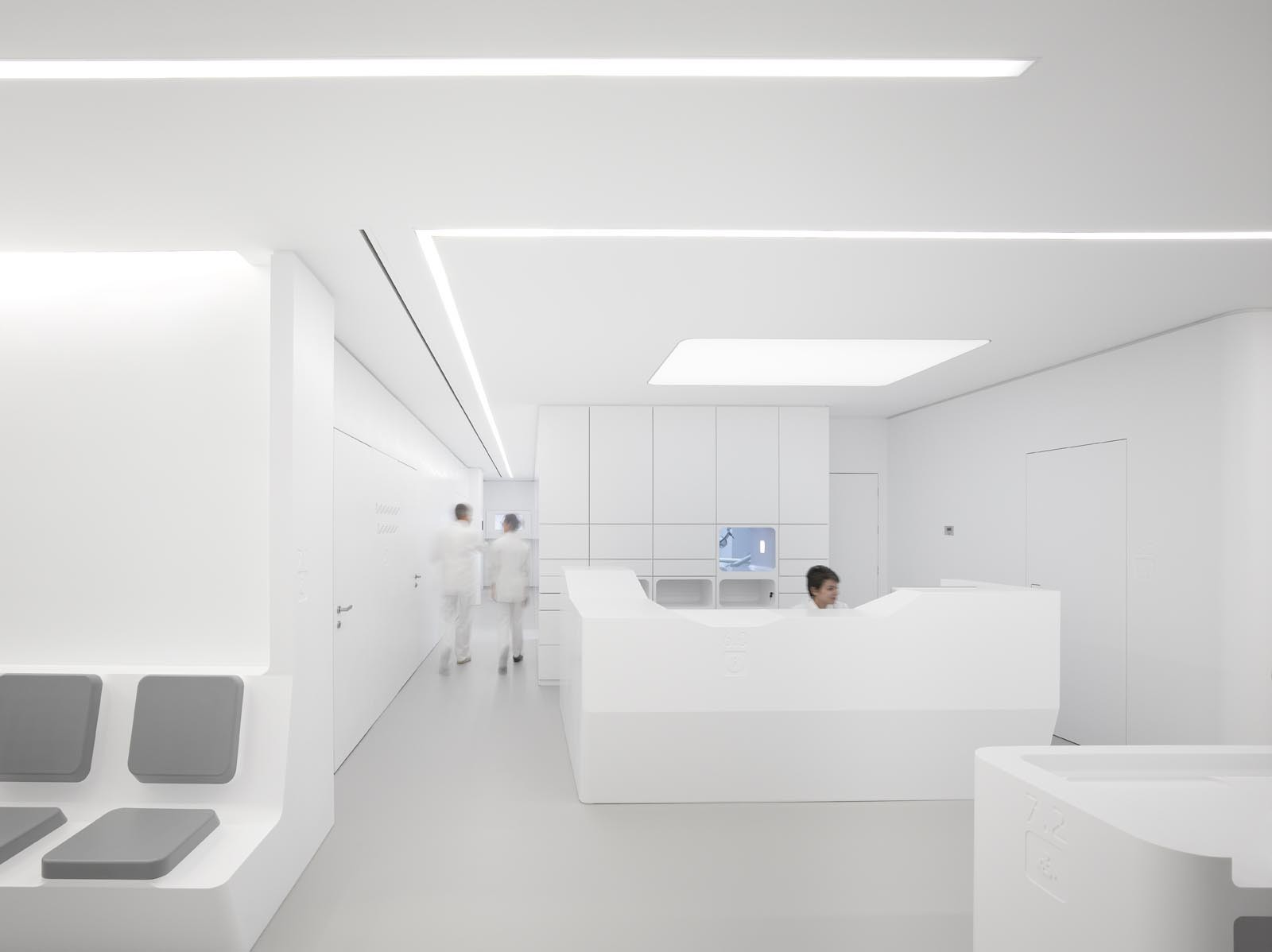 white space orthodontic clinic bureauhub architecture