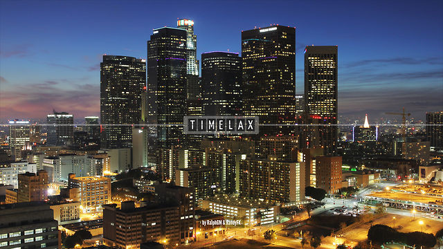 TimeLAX: A Time-Lapse Video Series of Los Angeles