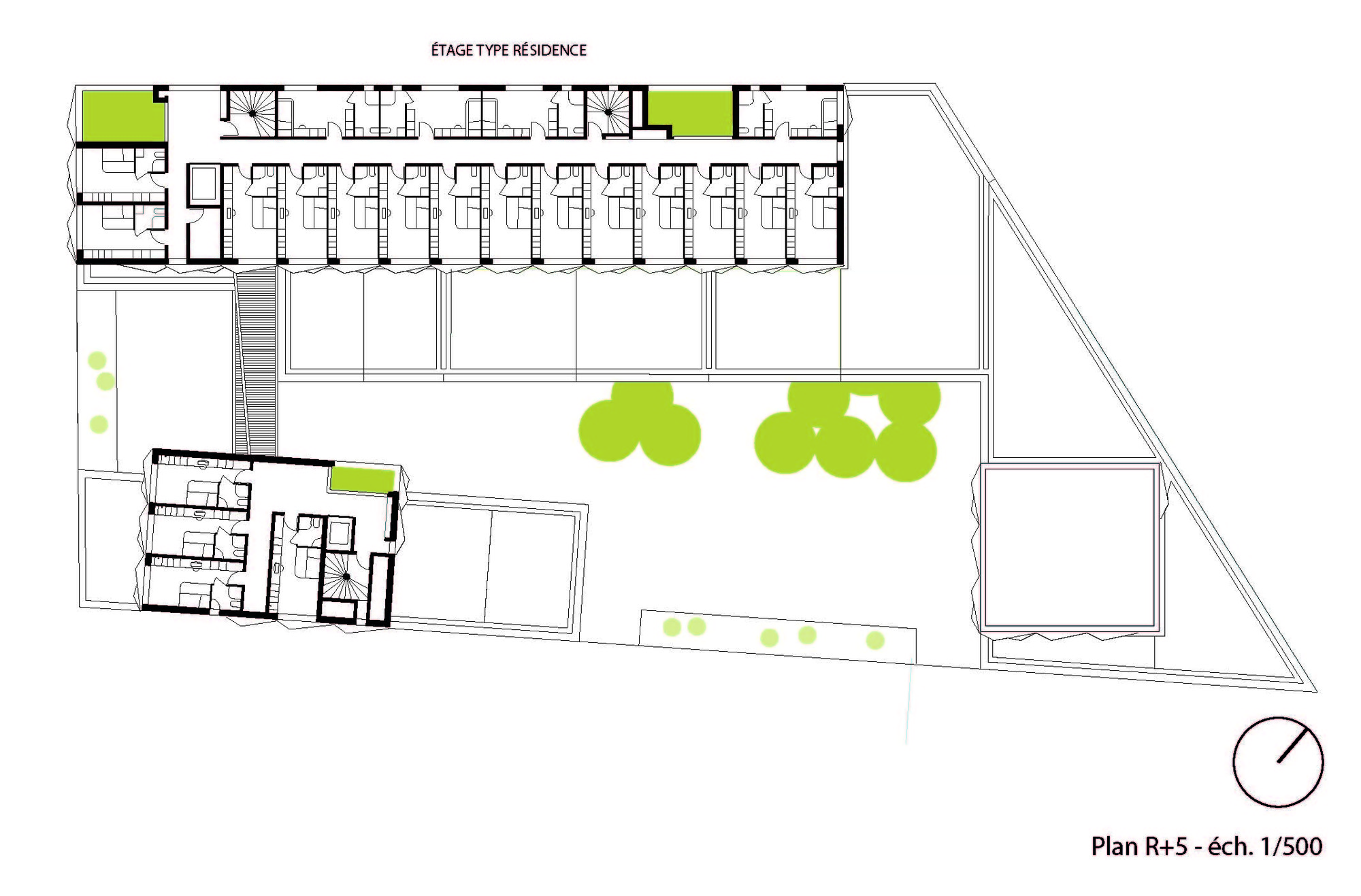 Gallery of School Group and Student Housing Atelier Phileas 14 – Student Housing Floor Plans