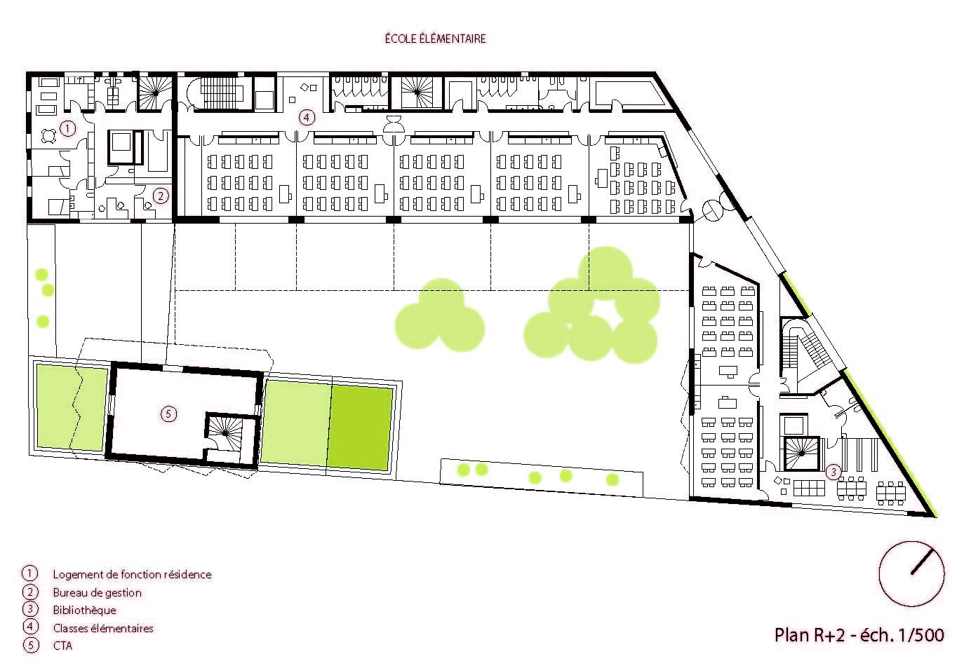 Gallery of School Group and Student Housing Atelier Phileas 12 – Student Housing Floor Plans