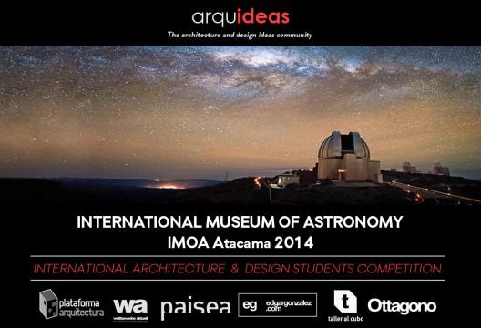Últimos días de inscripciones para Concurso Arquideas: International Museum of Astronomy