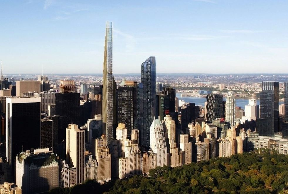 Should NYC Be Curbing Its Tall Buildings?, 111 West 57th Street by SHoP Architects. Image © SHoP Architects