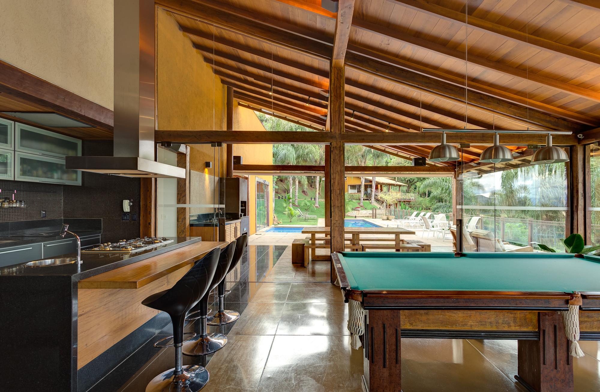 Galeria de casa de campo em macacos ana cristina faria for Modelos de piscinas campestres