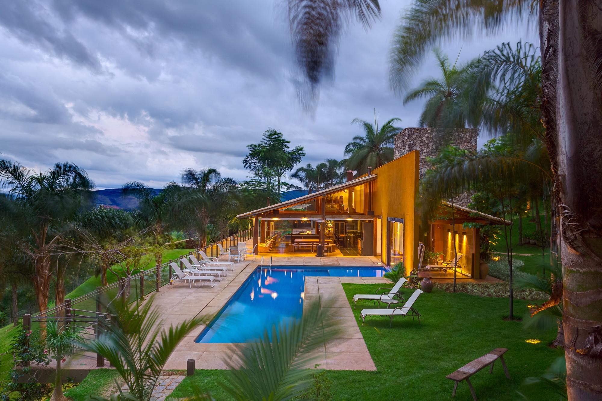 Casa de campo em macacos ana cristina faria maria for Fotos casas de campo con piscina