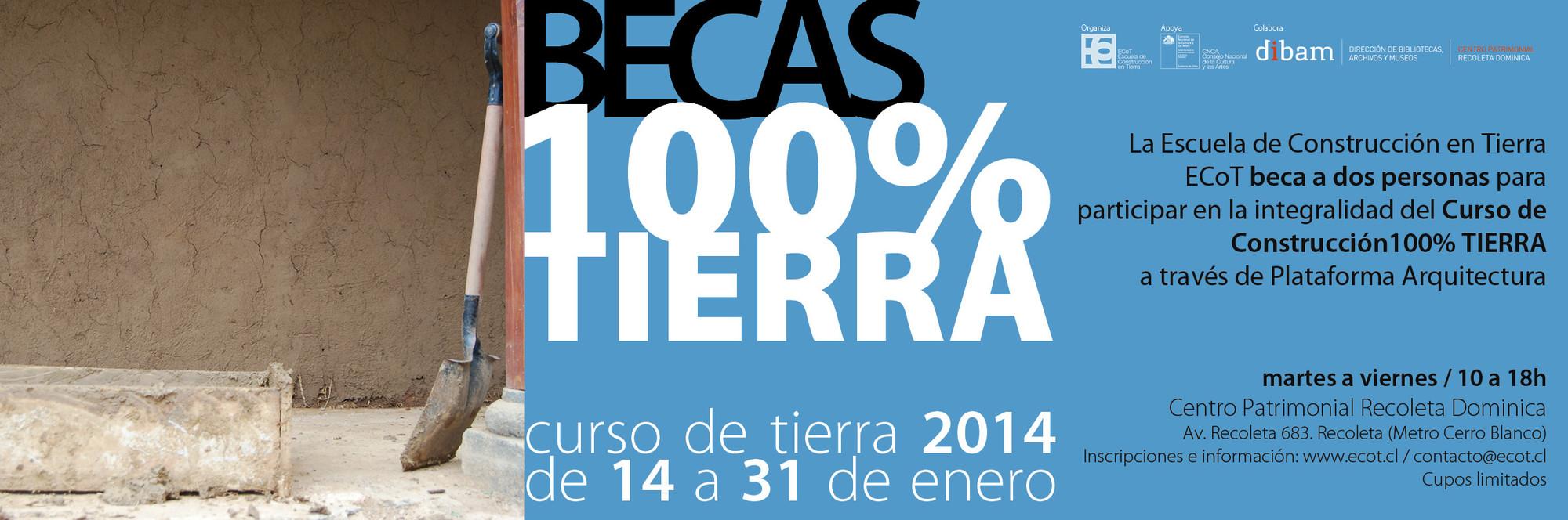 Curso de Construcción 100% TIERRA / ECoT [¡Sorteamos dos Becas!]