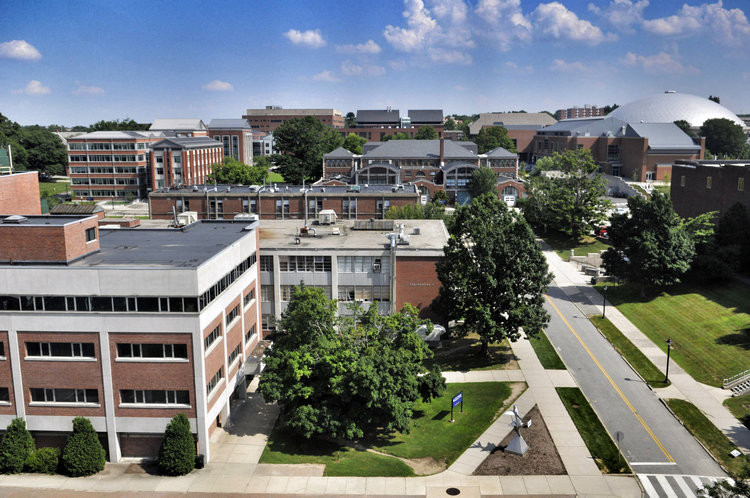 UConn Selects Shortlist to Design New Campus Masterplan, Aerial of UConn Campus. Image © Mark Mirko | Hartford Courant
