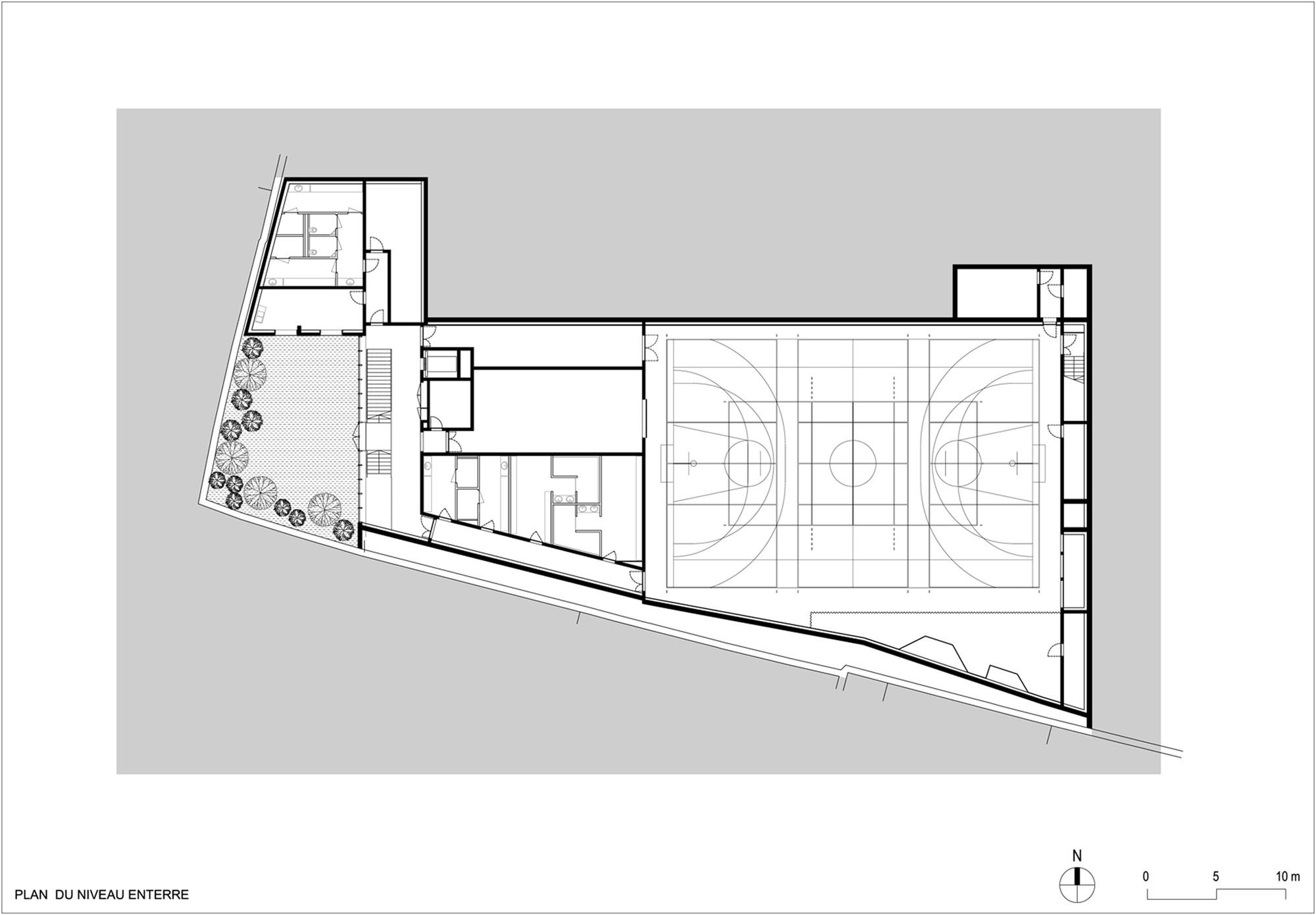 Unique Basement Floor Plan