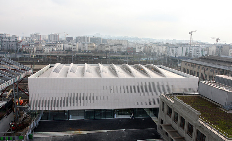 Pajol Sports Centre  / Brisac Gonzalez, Courtesy of Brisac Gonzalez