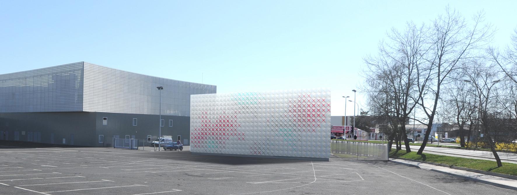 Techno-Prisme Storage Depot / Brisac Gonzalez, Courtesy of Brisac Gonzalez