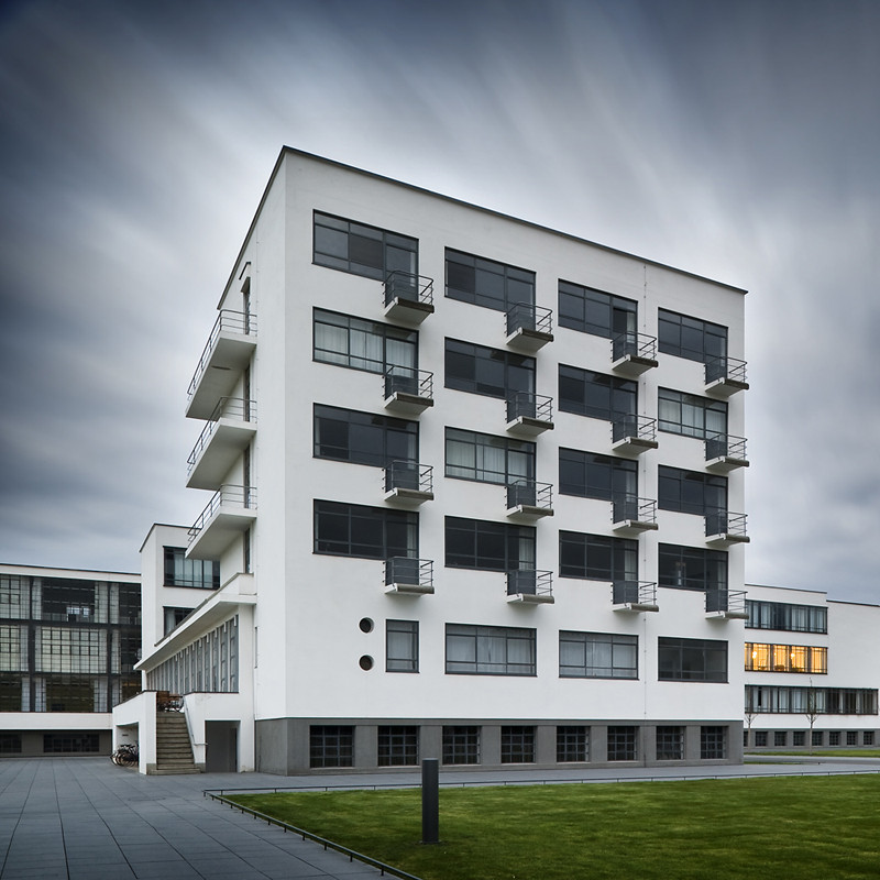 An All-Nighter at the Bauhaus, The Residential block at the Bauhaus is now open for visitors. Image © Thomas Lewandovski