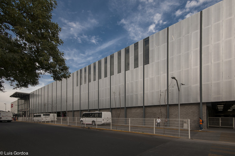 Centro de Transferência Modal El Rosario / CC Arquitectos, © Luis Gordoa