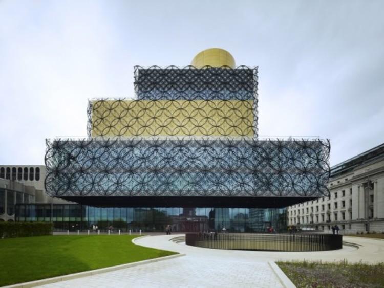 AJ Divulga a Lista das Indicadas para Arquiteta do Ano de 2014, Library of Birmingham / Mecanoo. Image © Christian Richters
