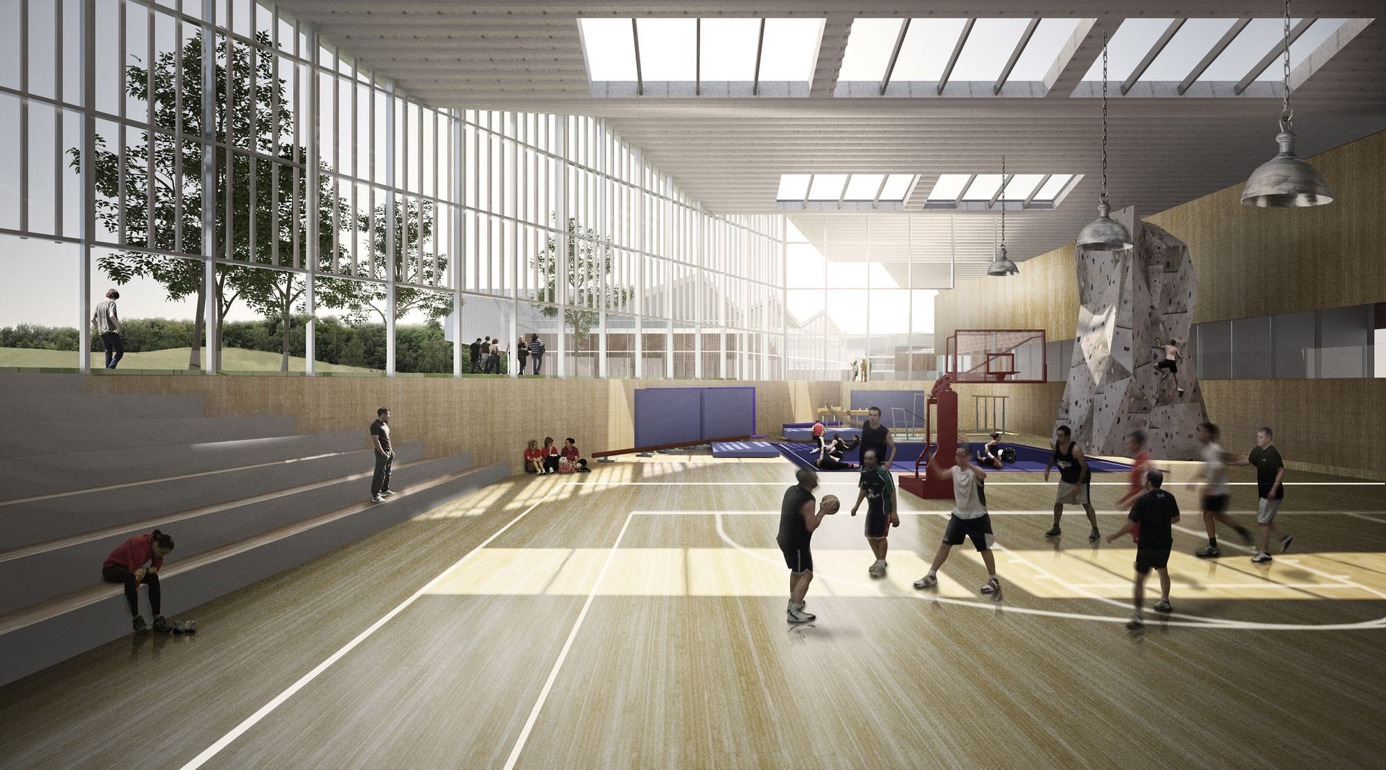 Gallery Of School Complex Ind Architects 8