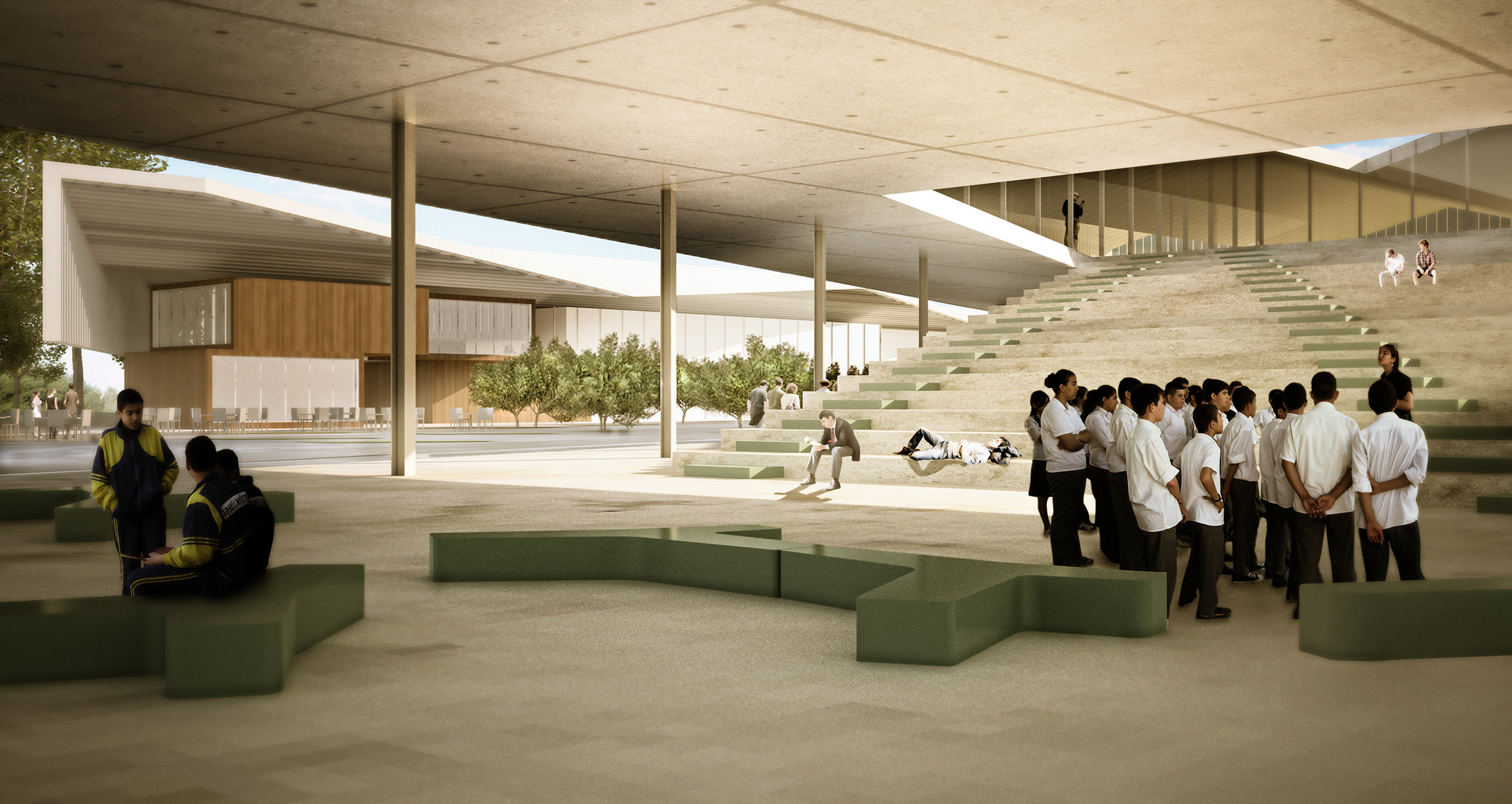 Gallery Of School Complex Ind Architects 2