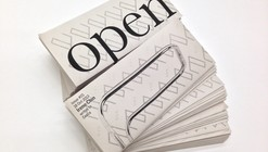 Open Letters / Harvard Graduate School of Design