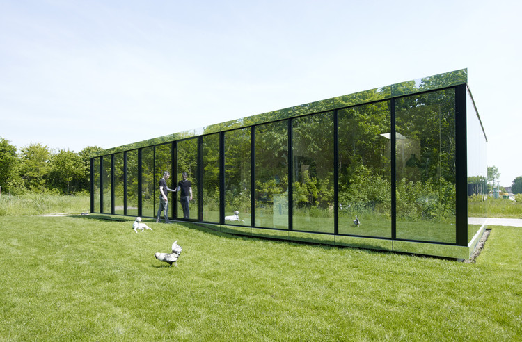Mirror House, Almere / Johan Selbing + Anouk Vogel, © Jeroen Musch
