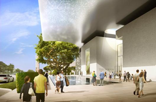 New_main_entrance_facade_rendering_of__norton_museum_of_art_(_courtesy_foster___partners)