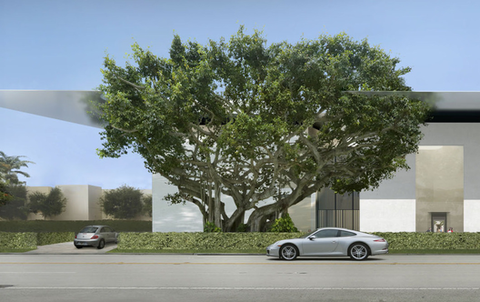 Norton_museum_of_art__rendering_detail_showing_preserved_ficus_tree_(_courtesy_foster_partners)