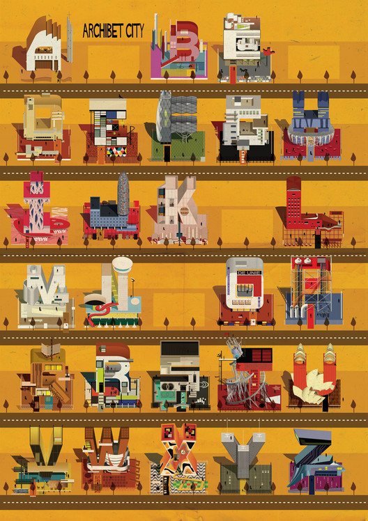 Archibet: An Illustrated Alphabet of Architecture , Courtesy of Federico Babina