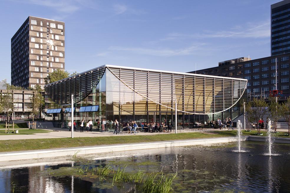 Erasmus Pavilion / Powerhouse Company + DeZwarteHond, © Christian van der Kooy