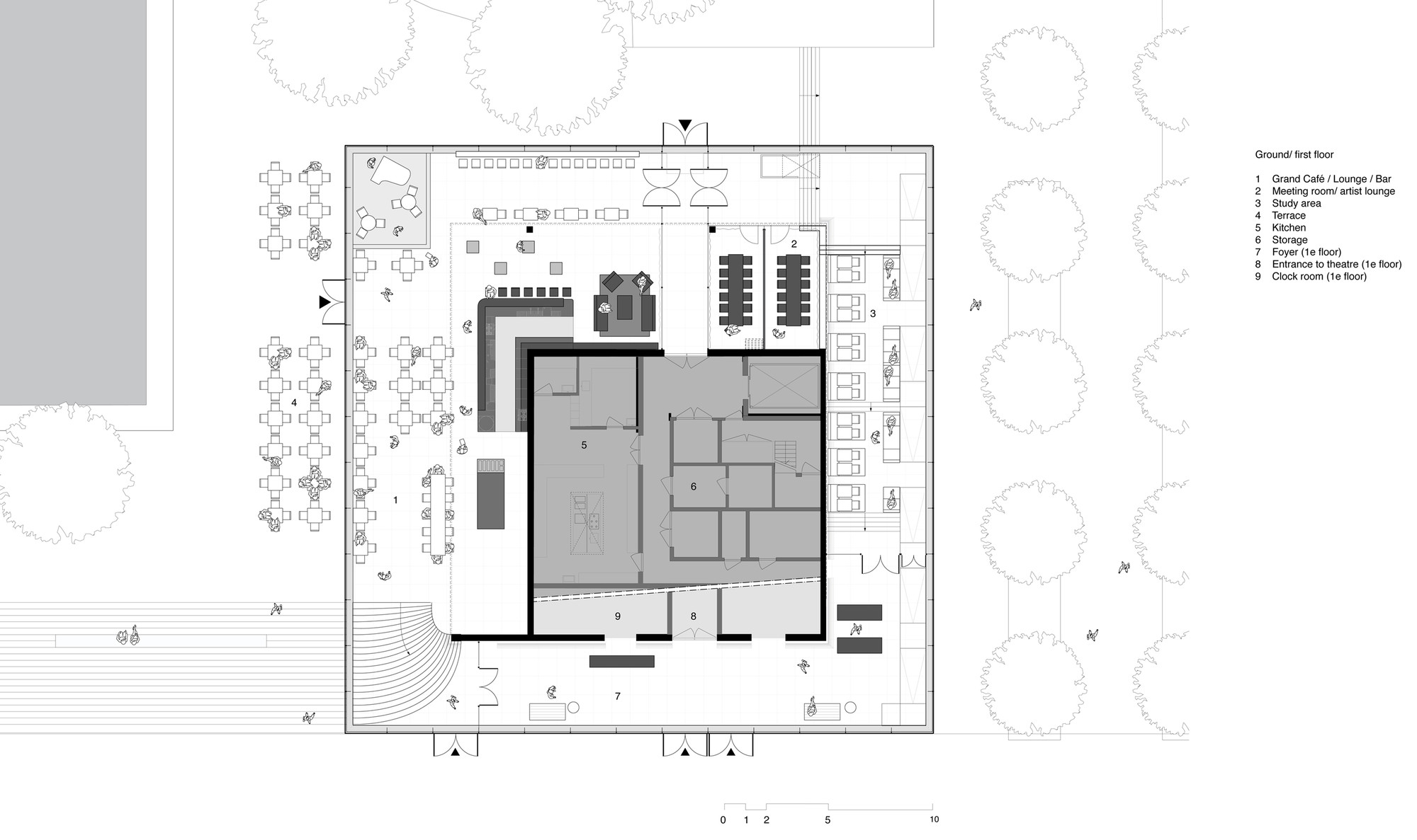 Gallery of erasmus pavilion powerhouse company for Floor plan companies