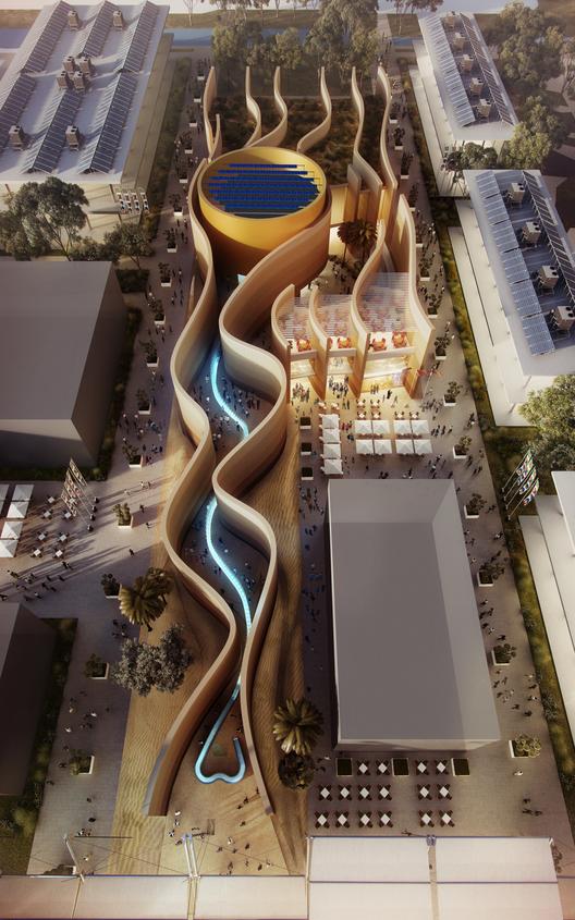 Expo Milan 2015: Foster revela su diseño para el Pabellón UAE, Courtesy of Foster + Partners