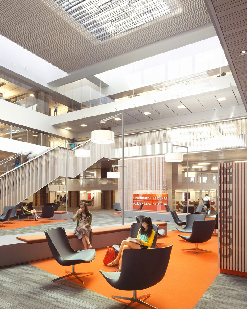 2014 AIA Institute Honor Awards For Interior ArchitectureOdegaard Undergraduate Library The Miller Hull
