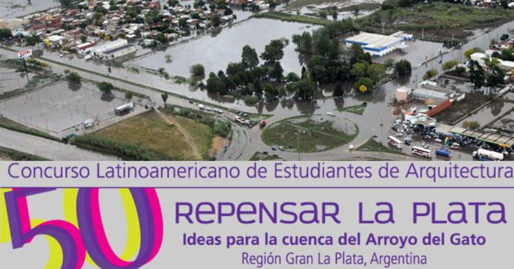 """Chamada para o concurso internacional de estudantes """"Repensar la Plata: ideas para la cuenca del arroyo del Gato"""", na Argentina"""