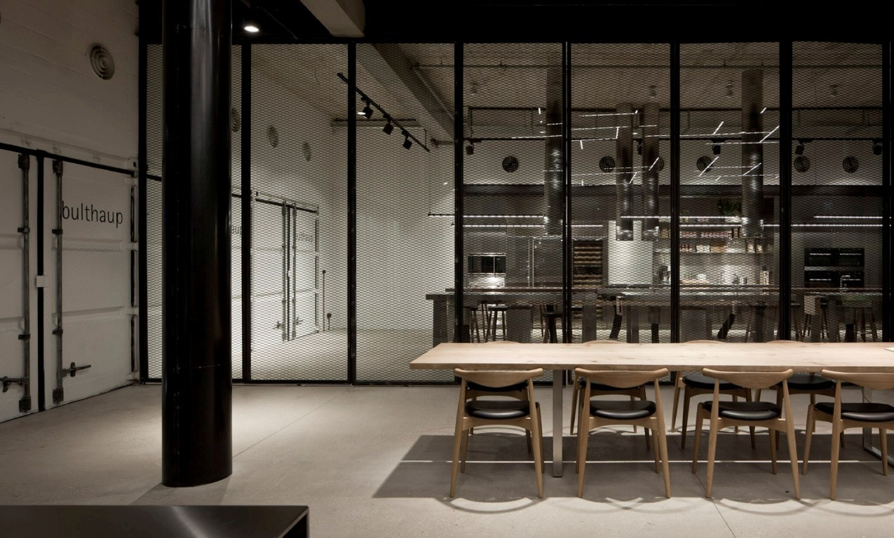 bulthaup showroom tlv pitsou kedem architects archdaily. Black Bedroom Furniture Sets. Home Design Ideas