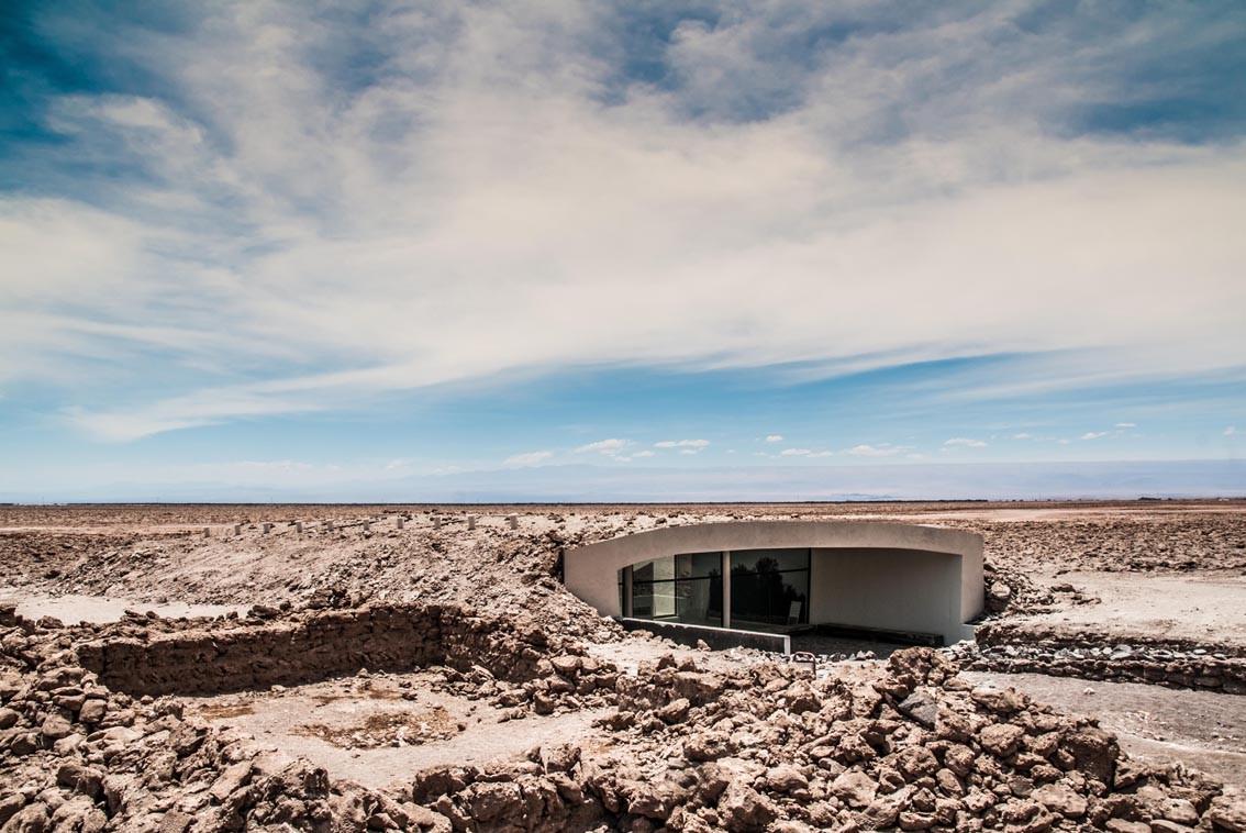 Geoglifos Of Pintados Visitor Center / William Obregon  + Aldo I Testa , © Francisco Campodonico