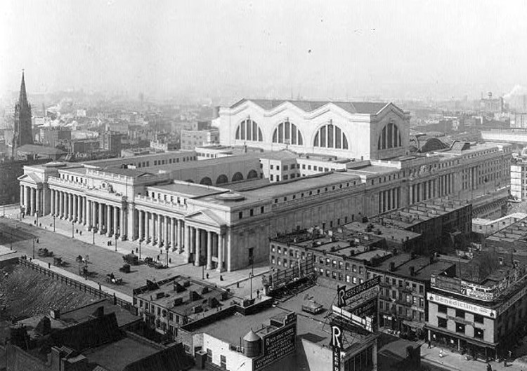 AD Classics: Pennsylvania Station / McKim, Mead & White, © wikimedia commons
