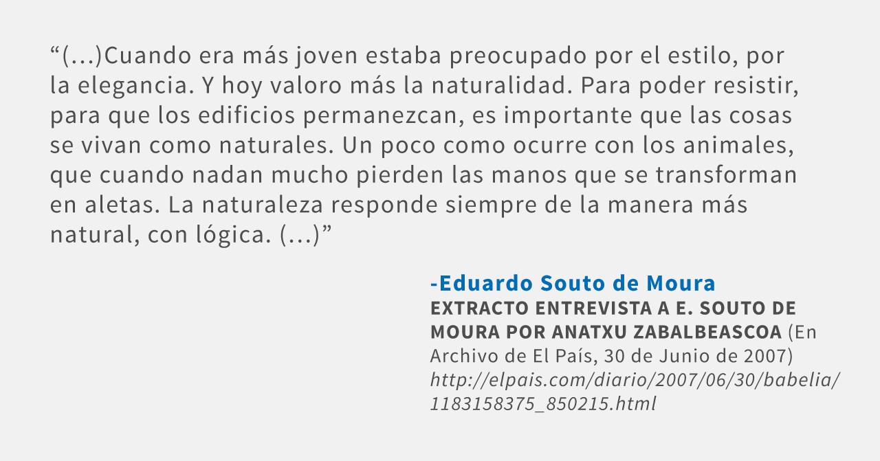 Frases: Eduardo Souto de Moura