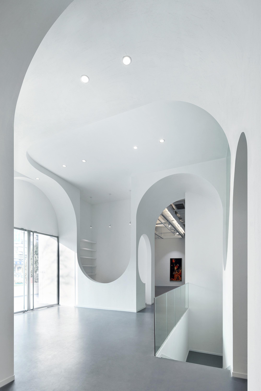 Gallery of hongkun art gallery penda 12 - Archway designs for interior walls ...