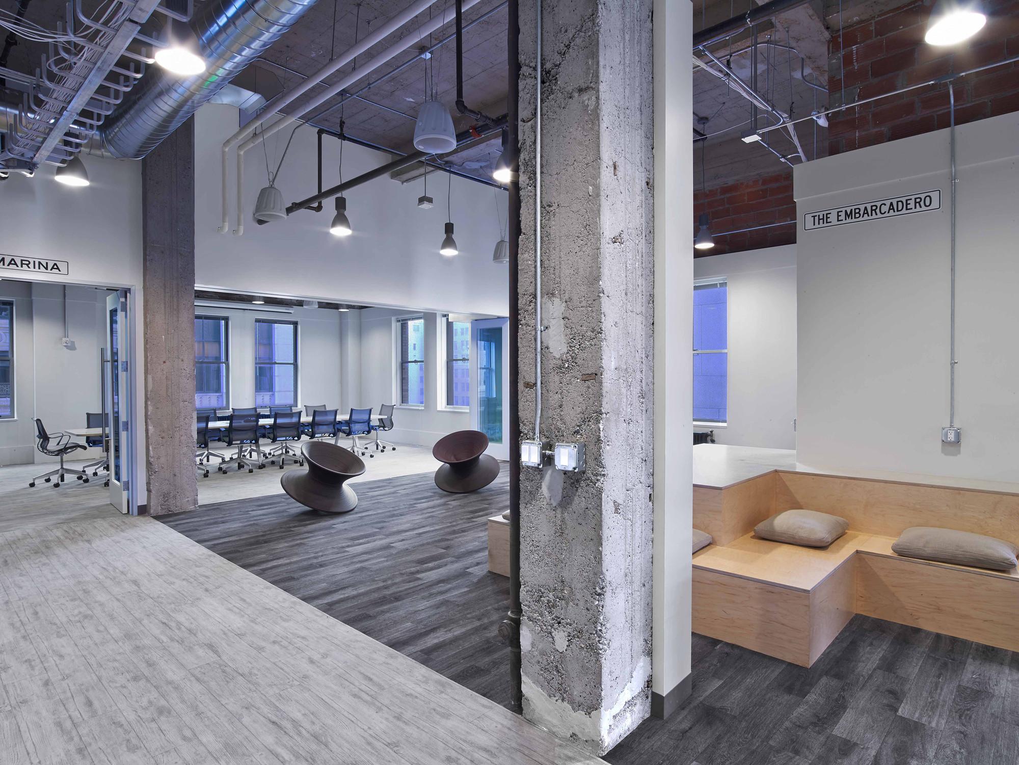 Expedia Office / Rapt Studio, © Eric Laignel