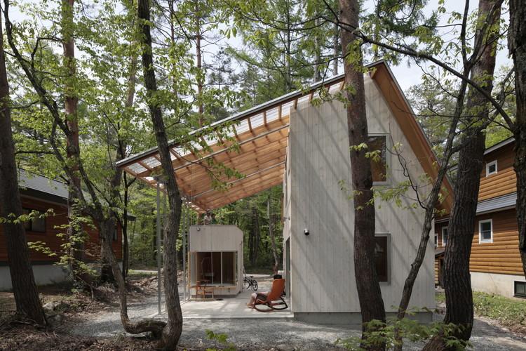 Villa in Hakuba / Naka Architects, © Torimura Koichi