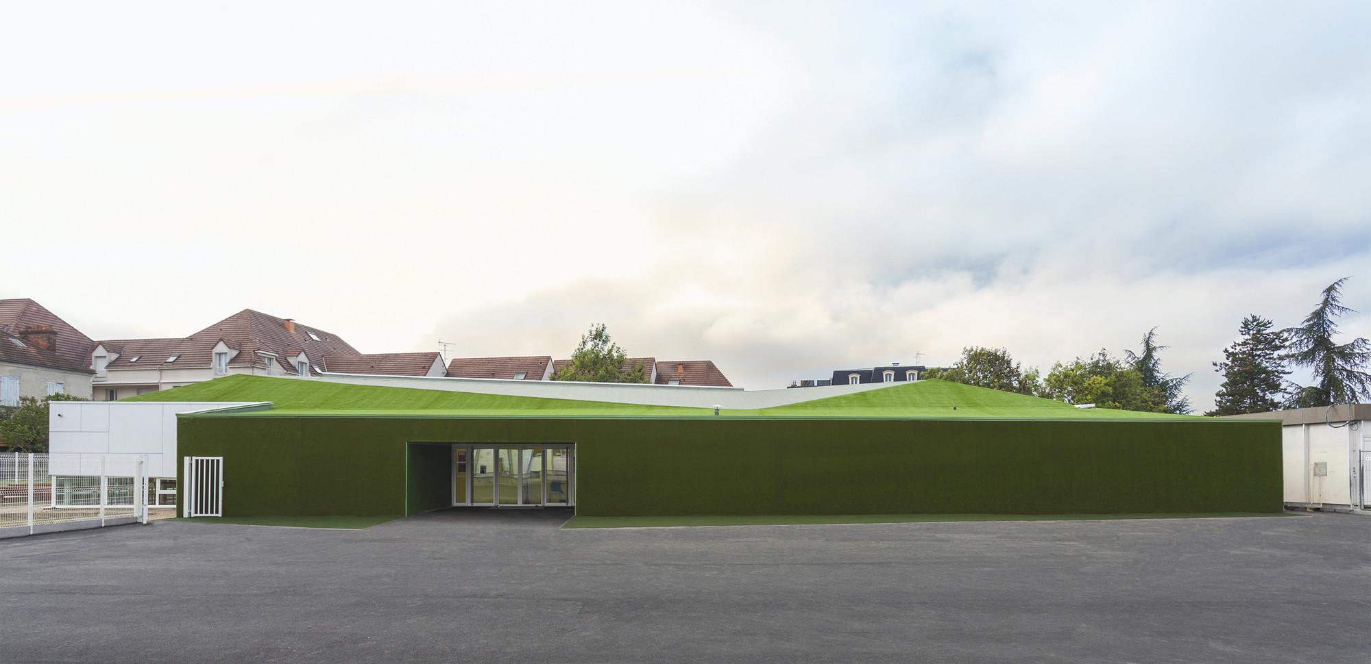 Pajot School Canteen / Atelier 208, © Alexis Leclercq