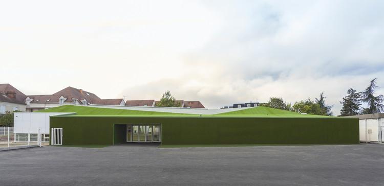 Refeitório da Escola Pajot / Atelier 208, © Alexis Leclercq