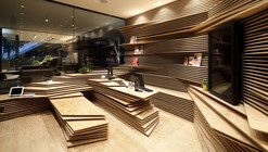 Shun Shoku Lounge by Guranavi / Kengo Kuma & Associates