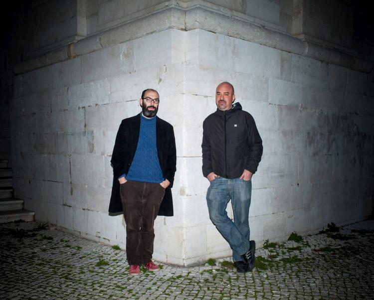 Anunciados os curadores e o presidente executivo da Trienal de Arquitetura de Lisboa 2016, André Tavares e Diogo Seixas. Image © Valter Vinagre / Kameraphoto