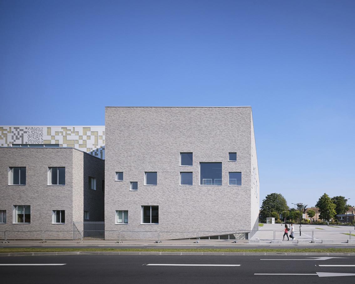 Lucie Aubrac School / Coldefy & Associates Architects Urban Planners (CAAU), © Julien Lanoo